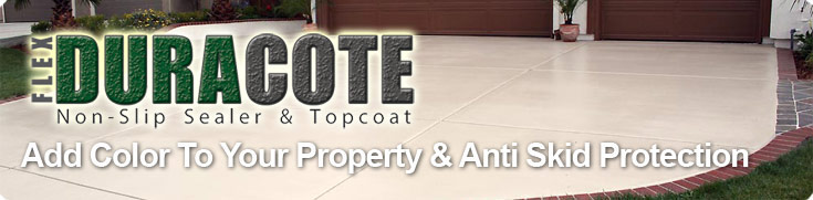 Concrete Paint Non Slip Paint For Concrete Flexduracote